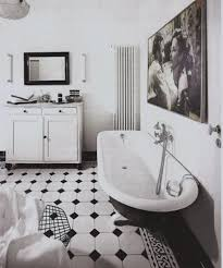 fancy black and white octagon bathroom tile about interior home