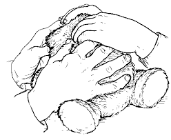 How To Interact With Blind People Talking The Language Of The Hands To The Hands