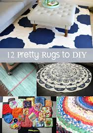 Diy Rug Diy Rug 12 Options For Covering Your Floors Diycandy Com
