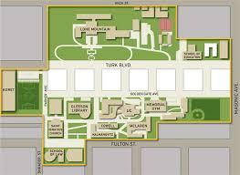 Usf Map Emergency Medical Response Service University Of San Francisco