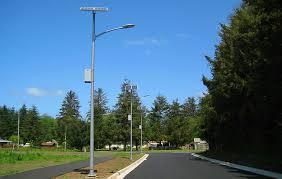 solar lighting for a community in oregon or greenshine