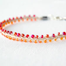 beaded ankle bracelet images Hemp jewelry beaded summer ankle bracelet jpg