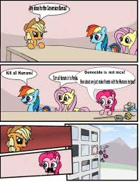 Board Meeting Meme - conversion bureau boardroom suggestion meeting my little pony