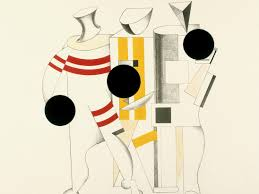 el lissitzky sportsmen from the three dimensional design of the