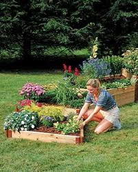 instant raised bed gardens the easy way
