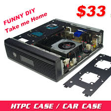 Pc Case Diy Aliexpress Com Buy Mini Itx Chassis Platform E350 Mini Htpc