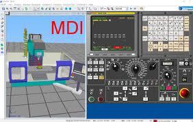 machining center fanuc mdi การส งเคร องทำงานด วย g code youtube