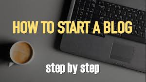 how to start a profitable blog step by step for beginners youtube