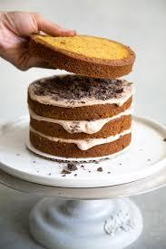 chocolate pumpkin cake forest cake the little epicurean