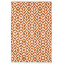 Buy Outdoor Rug Buy Orange Indoor Outdoor Rugs From Bed Bath Beyond