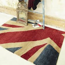 Round Wool Rugs Uk by Union Jack Hand Knotted Wool Rugs Free Uk Delivery The Rug Seller