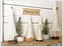 Vintage Style Shower Curtain Vintage Style Mini Christmas Trees Hometalk
