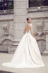 wedding dresses with pockets gown sweetheart backless lace satin wedding dress with pockets