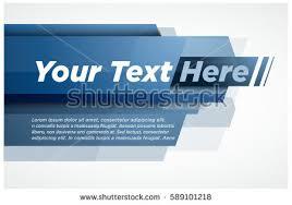 blue modern layout title design stock vector 589101218 shutterstock