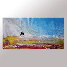 abstract wall abstract wall contemporary painting modern birds