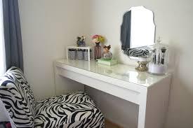 glass top vanity table furniture simple diy white wood makeup vanity table glass top