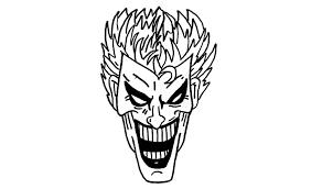 tutorial gambar joker how to draw the joker from batman character youtube