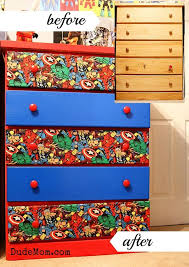 marvel bedroom awesome boys room kids bedroom boys room ideas diy superhero dresser makeover dresser hero and