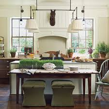 southern living kitchen ideas southern living idea house in senoia kitchen and dining room