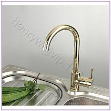 upscale kitchen faucets l15216 luxury gold color brass kitchen faucet and cold water