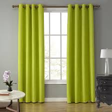 online shop sunnyrain 1 piece suede fabric green curtains for