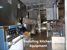 building food truck mobile kitchen youtube lunch wagon sample