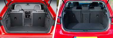 nissan micra luggage capacity audi a3 vs vw golf u2013 side by side comparison carwow