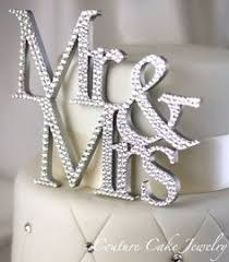 rhinestone cake toppers wedding cake topper custom monogram letter m laser engraving