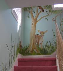 playroom mural a hand painted tree that features a swing and the childrens murals bing images fantastic work