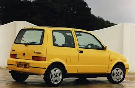 acid yellow jeep fiat cinquecento hatchback 1993 1998 photos parkers
