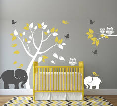 stickers elephant chambre bébé included 1 tree 65 by 48 wide comes in