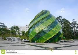 glass pavilion glass pavilion at lam vien square in dalat lam dong vietnam