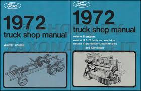 1972 ford f100 f250 f350 pickup truck foldout wiring diagram original