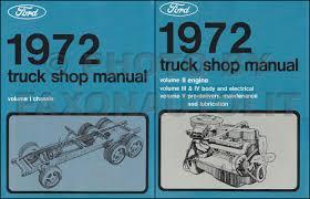 1972 ford f100 f250 f350 pickup truck foldout wiring diagram original
