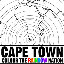 cape town on the world map colouring pages pearl lewis