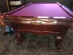 usa made pool tables 9 brunswick gold crown 1 natural finish made in usa