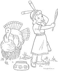 free thanksgiving turkey coloring page 003