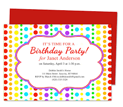 birthday invitations template