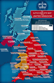 York England Map The Autocomplete Map Of The United Kingdom