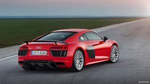 Audi R8 Red - 2016 audi r8 v10 plus dynamit red rear hd wallpaper 4