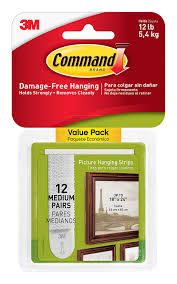 amazon com command picture hanging strips value pack medium
