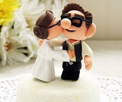 nerdy cake toppers geeky wedding cake toppers