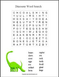 dinosaur word search for younger children find it at http www