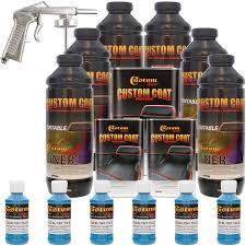 Bed Liner Spray Gun Custom Coat T10 Safety Blue 6 Liter Gun U0026 Text Bedliner Kt