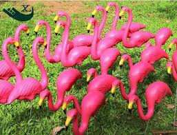 Garden Decorations For Sale Xilei Plastic Pink Garden Decor Flamingo Birds Decorations For