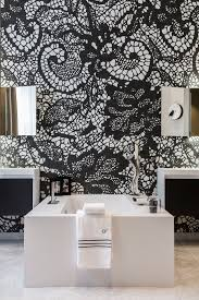 Black And White Room 478 Best Bathroom Areas And Powder Rooms Images On Pinterest