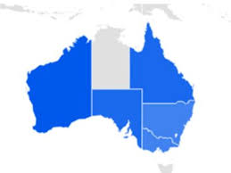 map of australia with cities and states the highest demand treat states and cities for 2017 in