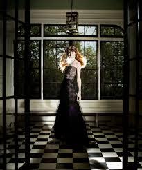 california 5 glamorous black wedding dresses fit for halloween