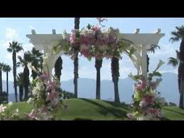 How To Decorate A Wedding Arch How To Decorate A Wedding Archway Youtube