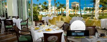 Cliffside Restaurant Italy by Gourmet Restaurants At Our All Inclusive Resorts Sandals